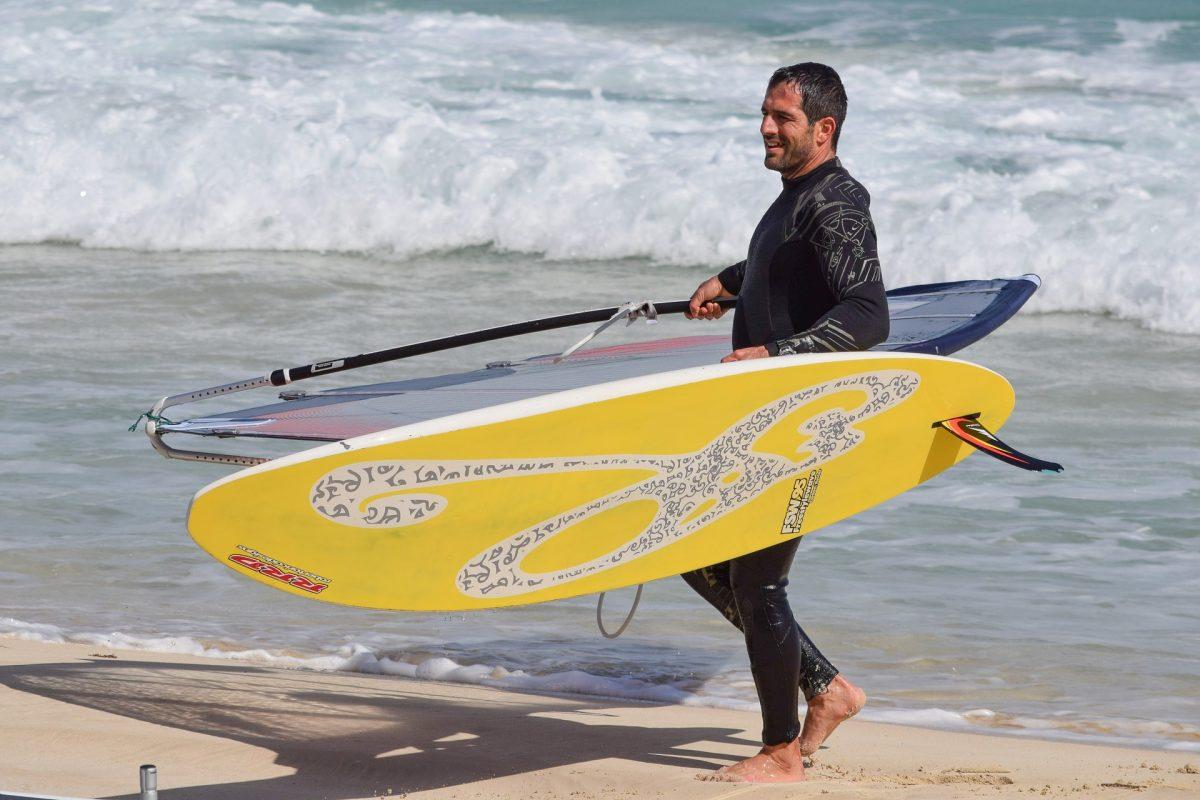 Traje de nepreno para surfear